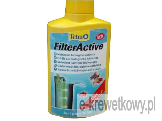 TETRA FILTERACTIVE 250ML BAKTERIE DO FILTRA