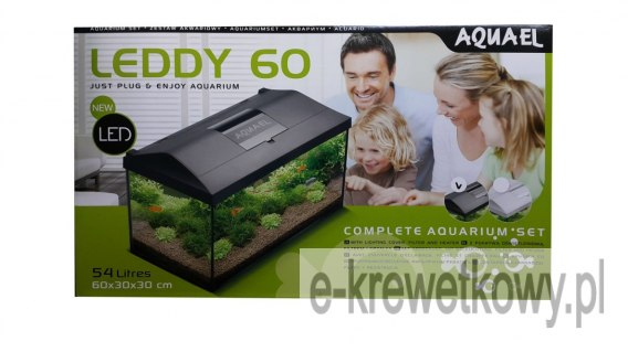 AQUAEL AKWARIUM LEDDY SET 60