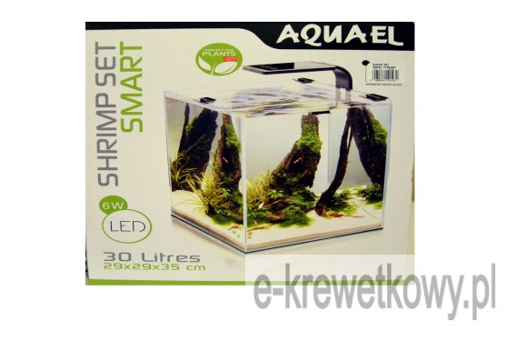 AQUAEL AKWARIUM SHRIMP SET 2 30 BLACK
