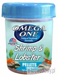 OMEGA ONE SHRIMP & LOBSTER POKARM PELLET TONĄCY 34gram