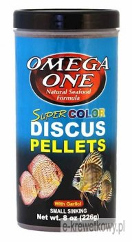 OMEGA ONE SINKING SUPER COLOR DISCUS PELLETS 119G