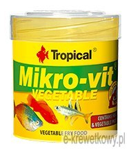 TROPICAL MIKRO-VIt VEGETABLE 50ml 32g