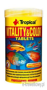 TROPICAL VITALITY & COLOR TABLETS 250ml POKARM